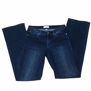 Lila Ryan Montgomery dark wash bootcut jeans